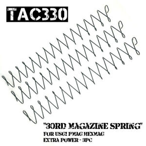 30rd Magazine Spring For USGI PMAG HEXMAG Extra Power Replacement Springs 3Pc