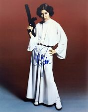 Carrie Fisher (Star Wars - Princes Leia), Autograph Signed A4 Photo.