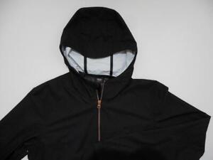 Levi's Commuter Packable Windbreaker Light Jacket Medium M Unisex 3M Black New