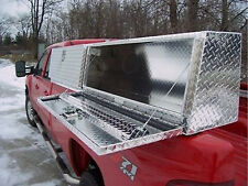 "Truck Tool Box :96"" Topsider Slant Front High Side Top Mount Toolbox topside"