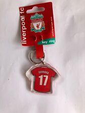Liverpool Gerrard Shirt Key Ring