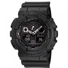 Casio G-SHOCK GA-100-1A1ER Mens Wristwatch - Black