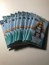 2019 TOPPS WWE WOMEN'S DIVISION WRESTLING SEALED 10 RETAIL PACK LOT QTY