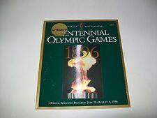 Atlanta 1996 Centennial Olympic Games Official Souvenir Program New