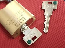 Keyed Alike Padlocks-Fitted With Secure 6 Inline Keying System & Restricted Keys