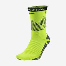 NIKE STRIKE MERCURIAL Dri-FIT Soccer Crew Socks SX5437-702 (8-9.5) Volt / Black