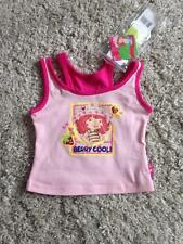NEW with TAGS STRAWBERRY SHORTCAKE PINK T-SHIRT TOP age 18-24 MONTHS