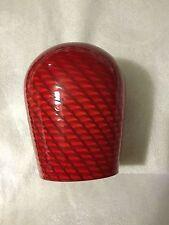 NEW Murano Red Swirl Hand Blown Glass Pendant Shade