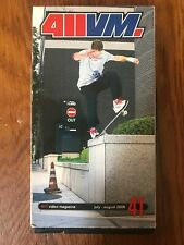 411vm vhs Volume 41 July-August 2000 Skateboarding