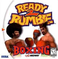 🔥 Ready 2 Rumble Boxing Sega Dreamcast  Disk Only
