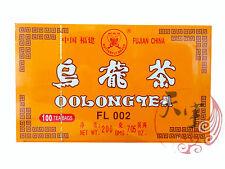 China Oolong Tea Bags 100 Pcs - Great Chinese Oolong Tea Time At Work Break