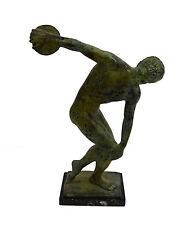 "Bronze ""Diskobolus of Myron"" discus thrower sculpture statue artifact"
