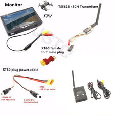 FPV system 5.8G 600mw Mini Transmitter TS5828 Receiver RC832 Plus for drone