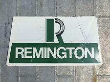 Vintage Remington Tires Sign 14x7 Original Steel Display Rack Goodyear Dunlop
