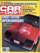Car Craft Magazine August 1984 Superchargers! Camaro EX 021916jhe