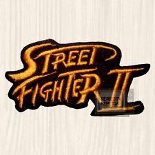 Street Fighter 2 Logo Embroidered Big Patch NES Ken Ryu Blanka Guile Vega Bison