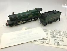 Tri-Ang Hornby R.759G Hall Class G.W.R. Loco & Tender OO Scale - As Is Untested