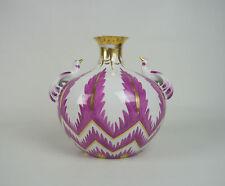 Porzellan-Vasen mit Vogel-Motiv im Art Déco-Stil (1920-1949)
