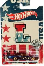 2018 Hot Wheels Stars & Stripes #09 '69 Dodgde Coronet Superbee