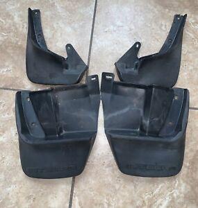 90-93 Acura Integra DA9 Complete Mud Flaps Splash Guard Set 91 92 93 OEM Rare