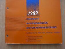 Chrysler Werkstatthandbuch Systemdiagnose 3,0L EFI Ram Van Caravan Voyager 1989