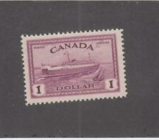 CANADA (MK3572) # 273 VF-MNH  $1 PEI TRAIN FERRY/ RED VIOLET /1946 CAT VALUE $83