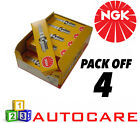 NGK Replacement Spark Plug set - 4 Pack - Part Number: BP5ES No. 6511 4pk