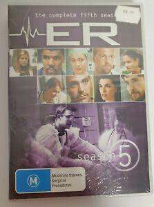 E R  The Complete Fifth Season DVD Region 4 Season 5