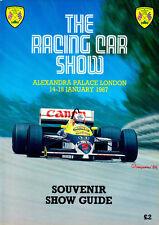 Racing Car Show Official Showguide Alexandra Palace 87