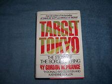 TARGET TOKYO by Gordon W. Prange/1st Ed./HCDJ/Military/WWII 1939-1945