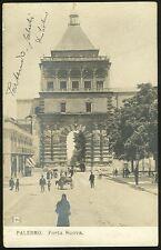 Sicilia Palermo Porta Nuova cartolina fotografica 244 SZN