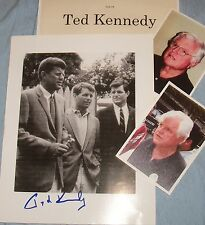 TED KENNEDY Autographed Photo &Photos -VERY HOT