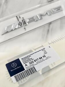 GENUINE Mercedes-AMG Car Boot Badge Replacement Rear Logo A2228170415 RRP $120