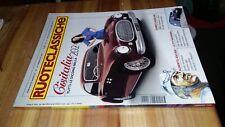 RUOTECLASSICHE # 147-FEBBRAIO 2001-CISITALIA 202-2 CV SAHARA-ALBERTO ASCARI