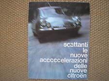 CITROEN ID 19 DS 19 21 BREAK PALLAS CABRIO SALES BROCHURE PROSPEKT ITALY 1965