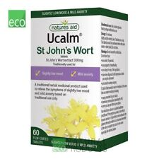 Natures Aid Ucalm Hierba de San Juan 300 mg 60 comprimidos