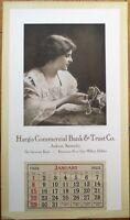 Jackson, KY Kentucky 1922 Hargis Bank & Trust Advertising Calendar/Poster, 12x21