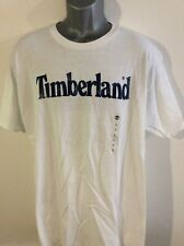 Mens timberland printed t-shirt , BNWT, white, Loose fit
