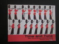 Time and Tune - AUTUMN 1962 - BBC RADIO FOR SCHOOLS