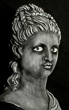 "HAUNTED  Victorian Bust Statue ""EYES FOLLOW YOU""  Mansion House Halloween Prop"