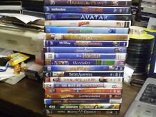 (20) Childrens Adventure DVD Lot: (7) Disney Treasure Planet Avatar Holes & MORE