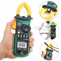 New MASTECH MS2108A Digital Clamp Meter Multimeter AC DC Current Volt Tester