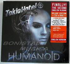 TOKIO HOTEL - HUMANOID - CD+ DVD English Deluxe Edition SIGILLATO
