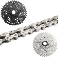 SunRace 8 Speed 11-40T MTB Bike Cassette Bicycle Chain Adapter fit Shimano SRAM