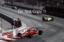 Gilles Villeneuve Ferrari 126 C2 USA Grand Prix 1982 Photograph 4