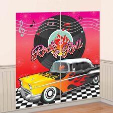 1950 anni 1950 anni'50 Rock N Roll Festa di Compleanno Decorazione Scena Setter Banner