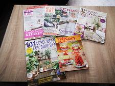 Zeitschriften*6x Wohn- Ideen; Country Living, Wohnen & Dekorieren