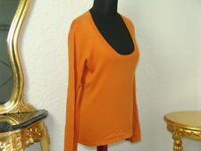 ESPRIT - feiner strick Pulli in Größe XL orange