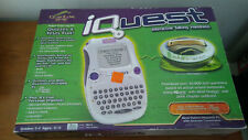 Quantum Leap iQuest Interactive Talking Handheld With Mind Station - Brand New