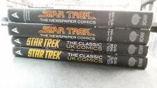 STAR TREK: Newspaper Comics & UK Comics *FOUR VOLUME HARDCOVER BUNDLE!* (IDW)
